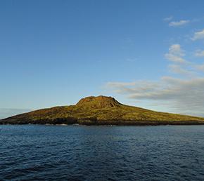 chinese hat Aqua Yacht galapagos islands