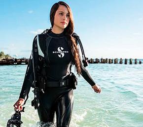 wetsuit Aqua diving baltra
