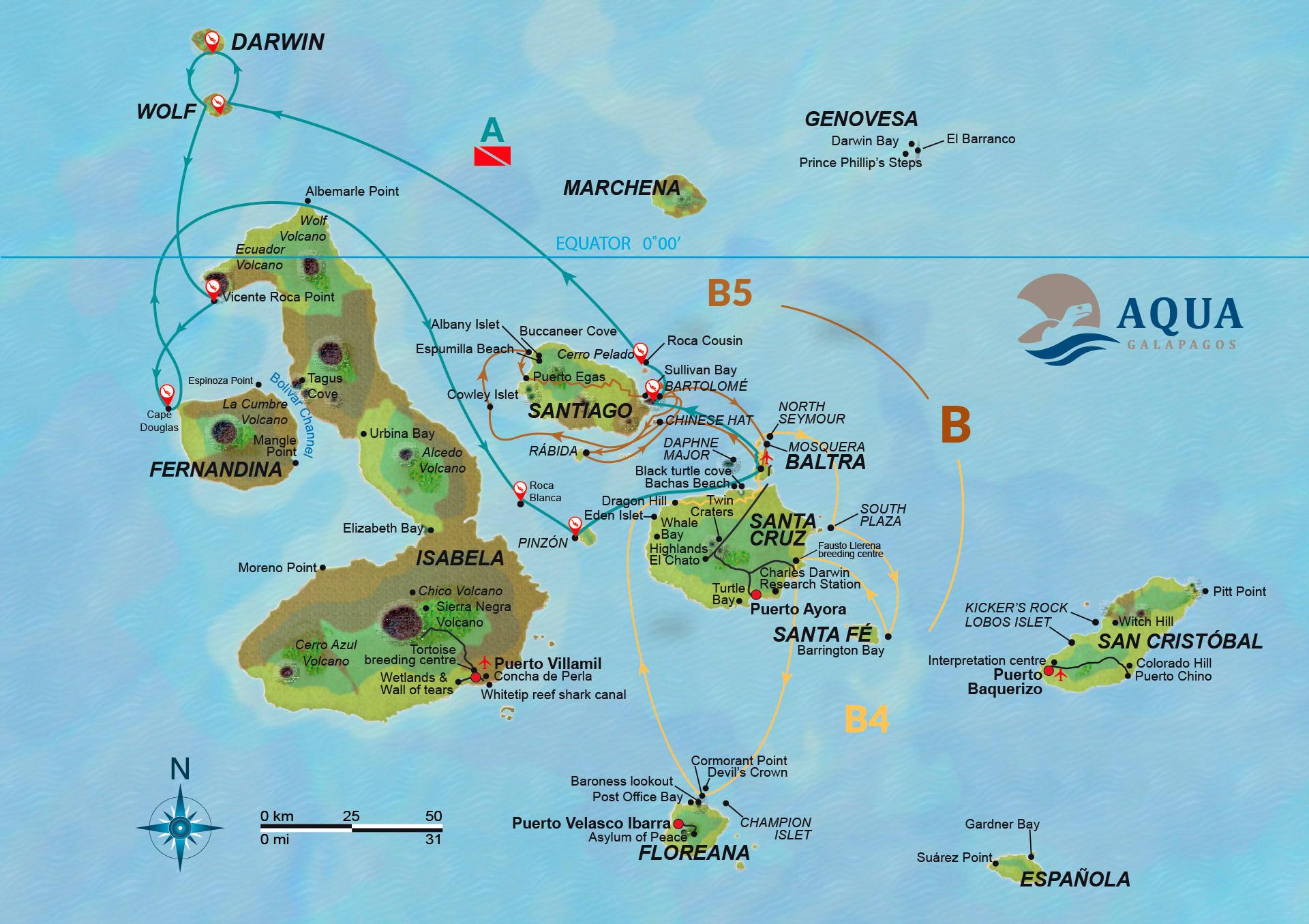 Route Aqua